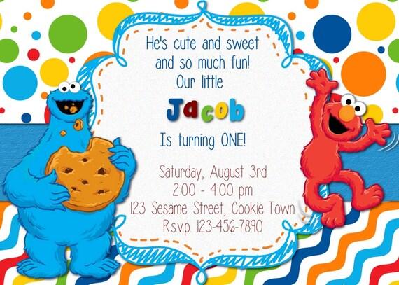 il_570xN.477157024_8zxl cookie monster & elmo birthday invitation elmo invitation,Elmo Invitations Etsy