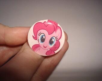 Pinkie Pie MLP Ring/Hair Pin