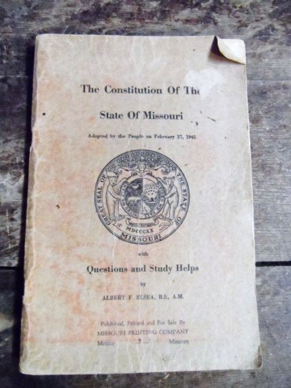 an analysis of missouri constitution The justice department announced the findings of its two civil rights investigations related to ferguson, missouri, today the justice department found that the ferguson police department (fpd) engaged in a pattern or practice of conduct that violates the first, fourth, and 14 th amendments of the constitution.