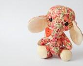Stuffed Animals - Cloth Elephant. Teddy art doll.