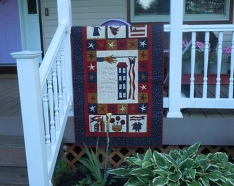 One Flag, One Land..... Wall Hanging