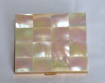 Mother of Pearl Compact by Schildkraut