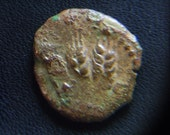 Ancient Coin of Agrippa (37 - 44 AD) Bronze Prutah