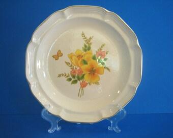 Vintage Sangostone - Butterfly II 3411 Dinner Plate