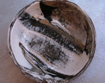Marblized Clay Bowl