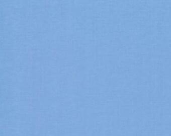 Bella Solid Little Boy Blue Fabric by Moda Basics Fabrics 9900 142 - 1/2 yard
