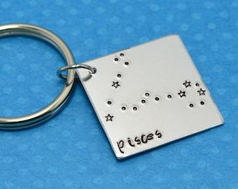Custom Constellation Keychain
