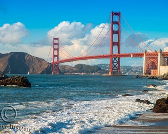 San Francisco Golden Gate Bridge, Photography, Landscape Photography, Nature Photography, San Francisco, California, American Treasure