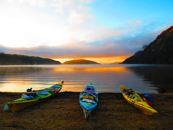 Manapouri New Zealand  city photo : Sunrise over Lake Manapouri in New Zealand. by CowlesPhotography