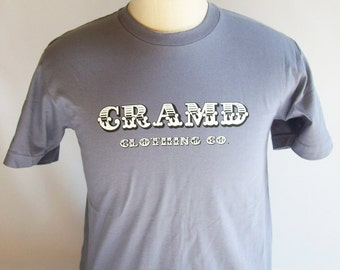 T Shirt CRAMD Cramdville T-Shirt American Apparel Tshirt Unisex Tee Shirt Mens Womens Cool Funny College Celebrity Pop Culture Trendy Phrase