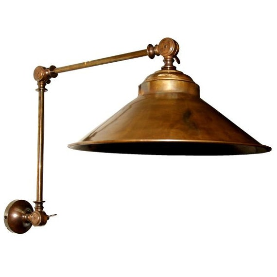 Items Similar To Industrial Lighting: Items Similar To Rio Adjustable Industrial Wall Light On Etsy