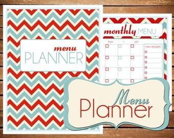 Menu Planner, Meal Planner, Meal Plan, Meal Plan Printable, Grocery List, Menu Plan, Shopping List, Menu planning, weekly meal planner