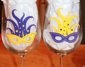 Oversized wine glasses