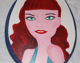 Pin Up Retro Toilet Seat