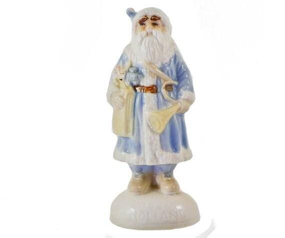 Old World Ceramic Santa Figurine 1920 Holland 5 Inch