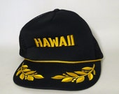 Vintage Hawaii Mesh Back Hat