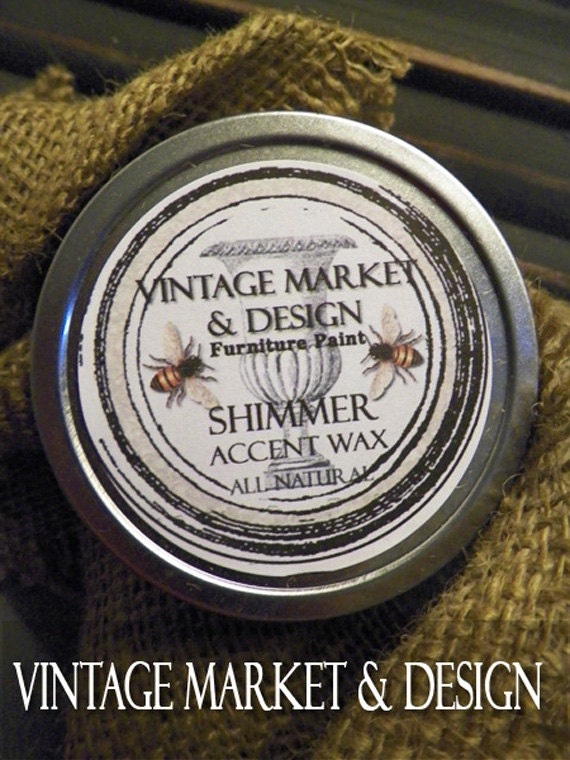 FREE SHIPPING!! Vintage Market & Design's Accent Wax- Shimmer