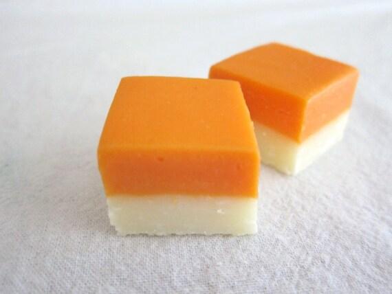 Orange Creamsicle Fudge Half Pound 1/2 lb by DeclansDelights