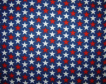 Per yard, 4th of July Fabric Collection red blue white