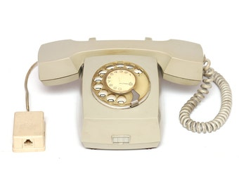Vintage rotary telephone, vintage telephone, rotary phone