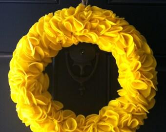"""14"""" Fun Felt Wreath"""