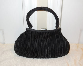 LaRegale Black Evening Bag