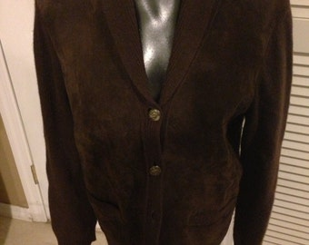 Ralph Lauren Women's Cashmere/ Wool Brown Sweater