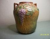 Reserved Roseville Wisteria Vase, Roseville Pottery
