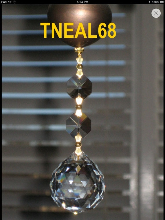 Magnetic Chandelier Crystals
