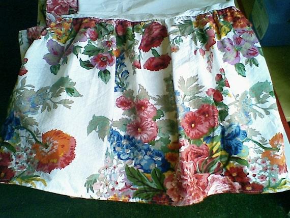 Ralph Lauren Beach House Melissa Queen Bed Skirt Bedskirt 100