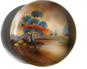 Hand Painted Plate Made In Japan