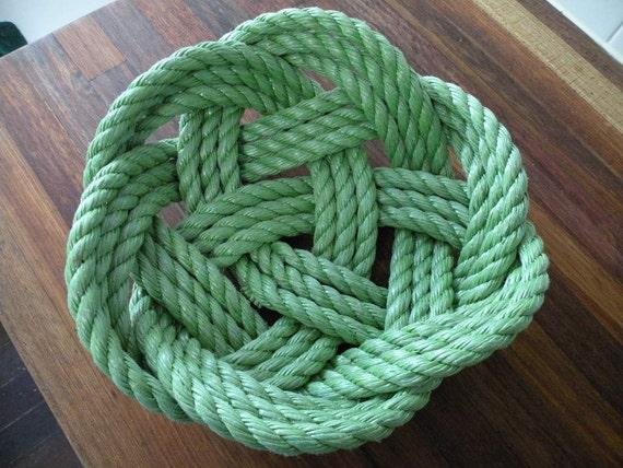 Handmade Rope Basket : Items similar to rope basket handmade nautical beach