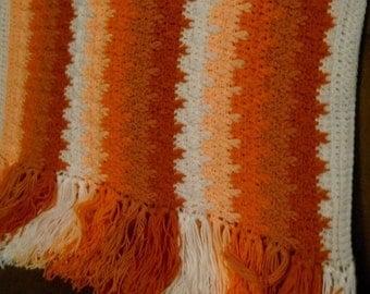 Tangerine Tango Blanket Pattern