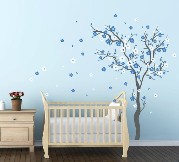 Wall Stickers For Baby Boy Nursery  Animals Wall Stickers - Nursery wall decals baby boy