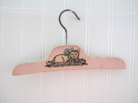 Items Similar To Vintage Baby Clothes Hanger Antique