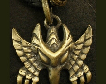 Bronze Alloy Eagle Hawk Pendant Necklace EB0016