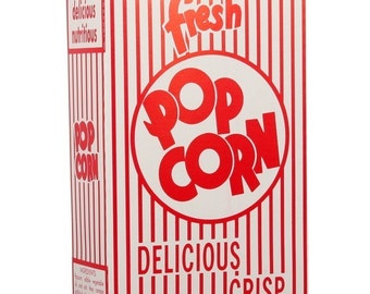 15 Vintage Movie Popcorn Boxes