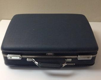 Vintage Azur Suitcase