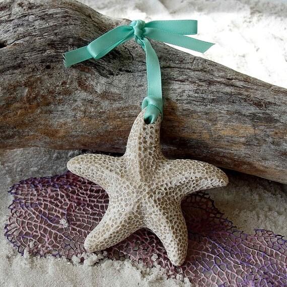 STARFISH Sand Ornament FAVORS Beach Wedding Destination