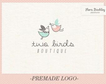 Custom Logo Design and Watermark - Premade  FB035