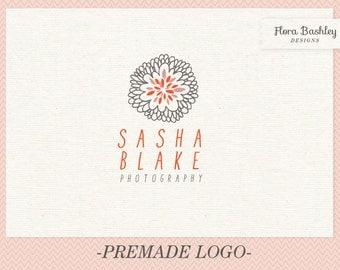 Custom Logo Design and Watermark - Premade  FB036
