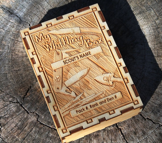Scout Whittling Box