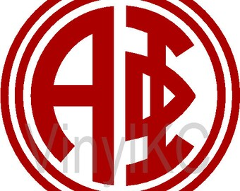 "Alpha Phi Sticker Greek Monogram Letter 5"" *Buy 2 Get 1 Free*"