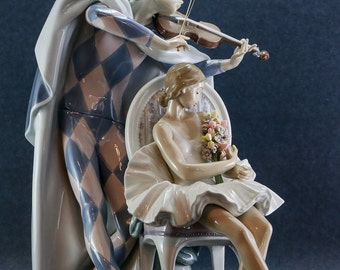 1993 Lladro Jester Serenade PH