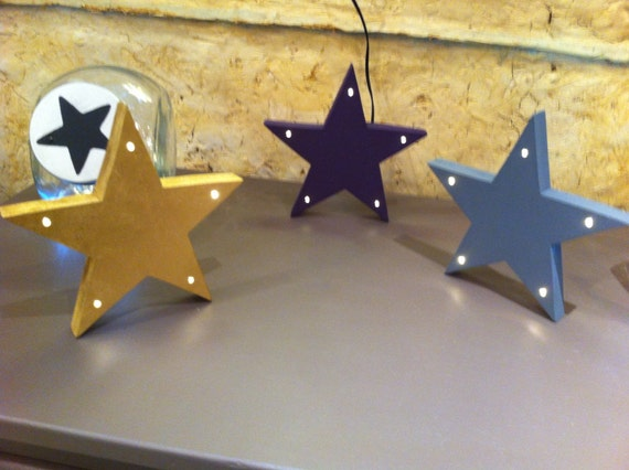 Light decoration led - star - light star - Angel - angel light