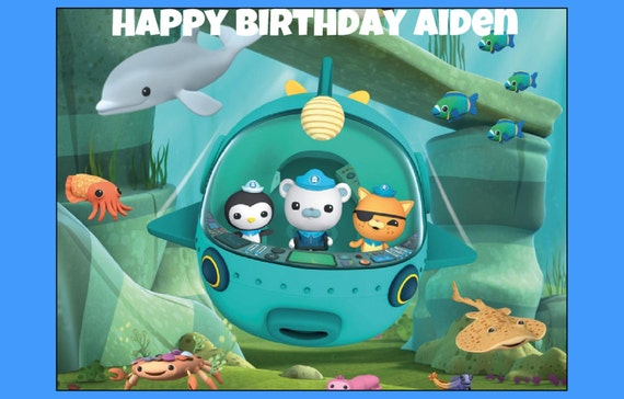 Edible Cake Images Octonauts : Unavailable Listing on Etsy
