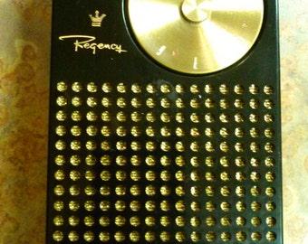 Vintage Transistor Radio, REGENCY TR-1