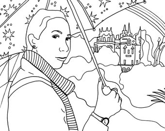 Coloring Book of YOUR Pictures (Custom)
