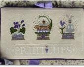 Cross Stitch Pattern: Printemps