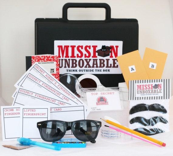 3 mois abonnement de top agent secret spy mission kits avec. Black Bedroom Furniture Sets. Home Design Ideas